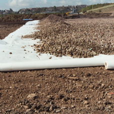 Roadway Geotextile Fabric 4.5m x 100m Contractor Roll